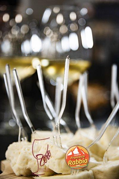 Francesco Rabbia e Zero- Enoteca Conviviale: collisione gastronomia per #Cheese19